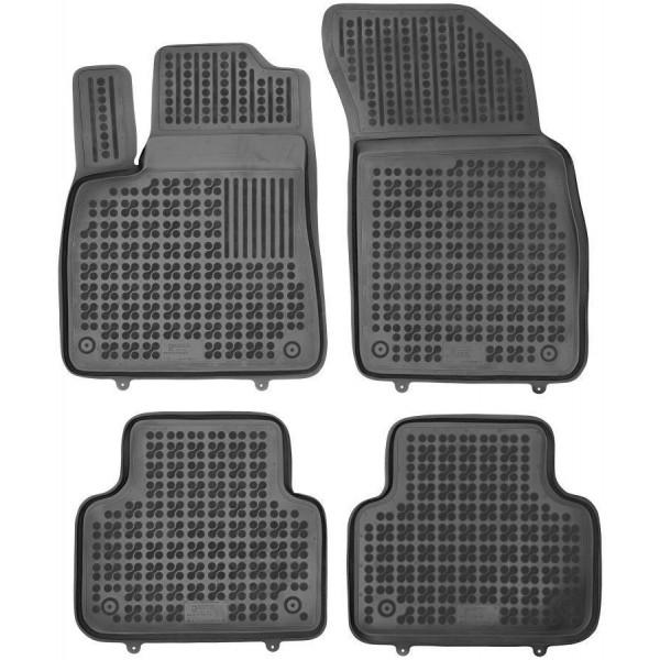 Audi Q8 2018-> Rezaw plast salono kilimėliai
