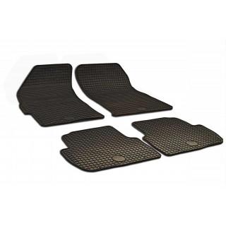 Chevrolet Spark 2009-2015 Gumarny Zubri salono kilimėliai
