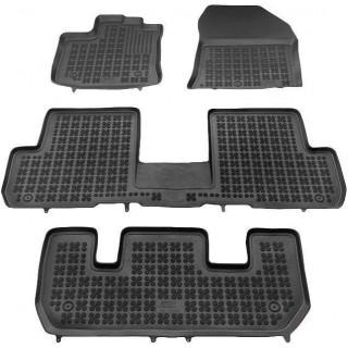 Dacia Lodgy 2012-> 7 vietų Rezaw plast salono kilimėliai