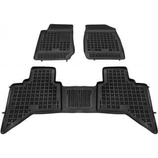 Isuzu D-Max II 2012-> Rezaw plast salono kilimėliai