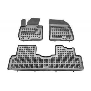 Kia Carens IV 2013-> Rezaw plast salono kilimėliai
