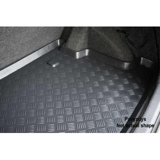 Porsche Cayenne w grill 2010-> Mix-plast bagažinės kilimėlis