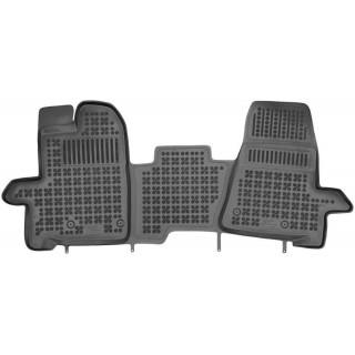 Ford Transit Custom 2018-> 3 vietų Rezaw plast salono kilimėliai